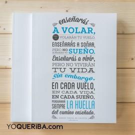 "Cuaderno ""Enseñaras a volar"""
