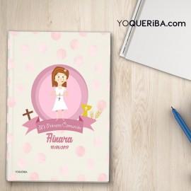"Cuaderno ""Mi primera comunión niña"""