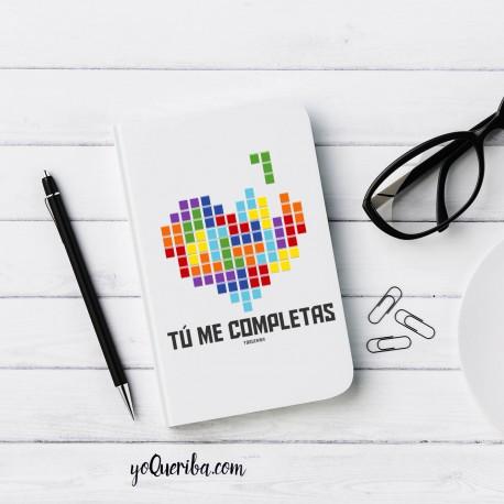 """Cuaderno personalizado """"Tetris"""""""