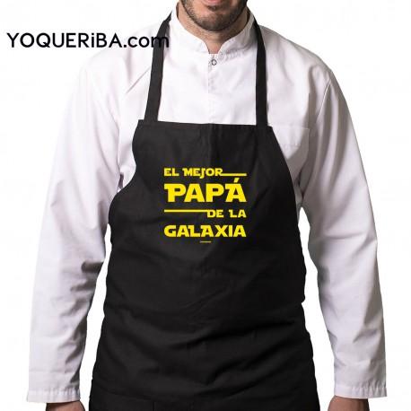 """Delantal personalizado """"mi papá es..."""""""