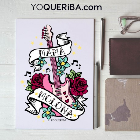 """Cuaderno personalizado Mi mamá mola"""""""
