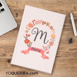 """Cuaderno para mamá """"Flores"""""""