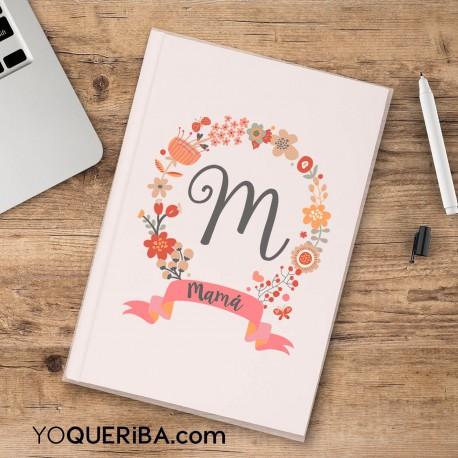 """Cuaderno personalizado """"Así es mi madre"""""""