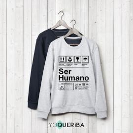"""Sudadera """"Ser Humano"""""""