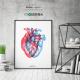 Lámina Corazón 3D