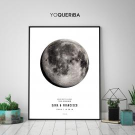 """Lámina personalizada """"Bajo esta luna"""""""