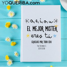 "Cuaderno ""El mejor mister """