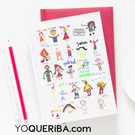 cuaderno dibujos