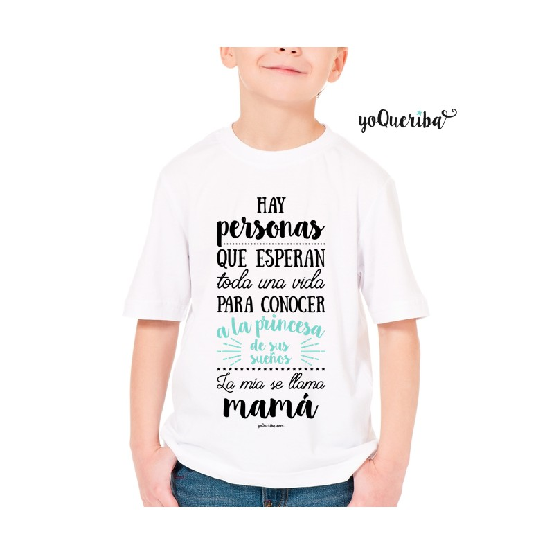 4688ab339 Camiseta personalizada niño