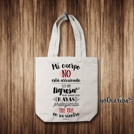 """Tote Bag personalizada """"Abecedario"""""""