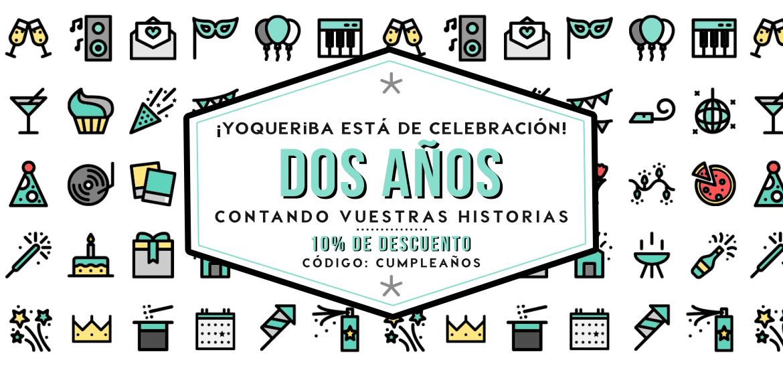 slide yoQueriba dos Aniversario
